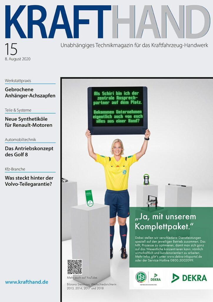 Titelseite KRAFTHAND 2020/15